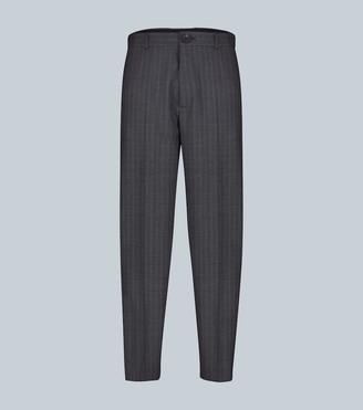 Balenciaga Cropped virgin wool pants