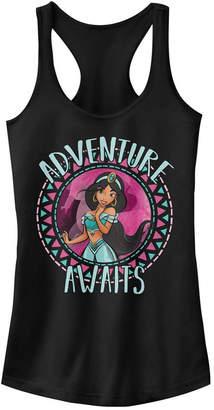 Disney Juniors' Princesses Jasmine Adventure Ideal Racerback Tank Top