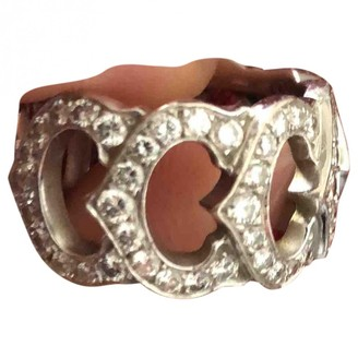 Cartier C Grey White gold Rings