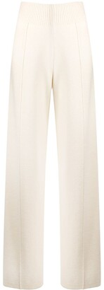 Pringle Wide-Leg Knitted Trousers