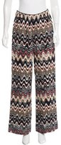Missoni High-Rise Wide-Leg Pants
