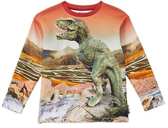 Molo Mountoo (Little Kids/Big Kids) (Dino Landscape) Boy's Sweatshirt