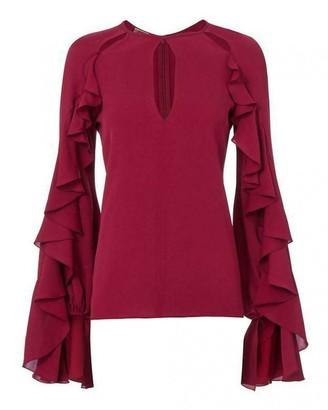 Giambattista Valli Pink Silk Top for Women