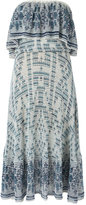 Cecilia Prado knit midi dress - women - Acrylic/Cotton - P