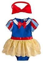 StylesILove.com StylesILove Snow White Inspired Photo Prop Baby Girl Dress Costume and Headband 2-pc