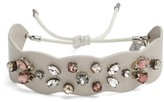 Rebecca Minkoff Women's Jeweled Guitar Strap Bracelet