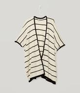 LOFT Striped Sweater Poncho