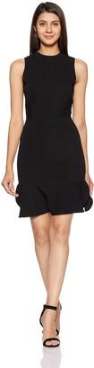 Vero Moda Women's Amalie Sleevless Ruffle Hem Dress