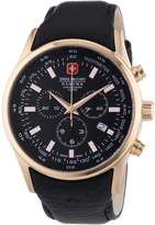 Swiss Military Hanowa Men's Navalus II 06-4156-09-007 Calf Skin Swiss Quartz Watch with Dial