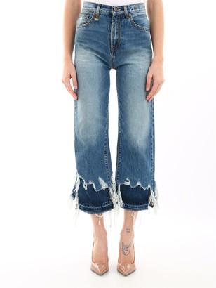 R 13 Jeans In Light Blue Denim