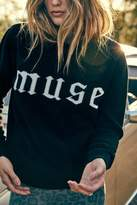 Ragdoll LA MUSE INTARSIA SWEATER Black