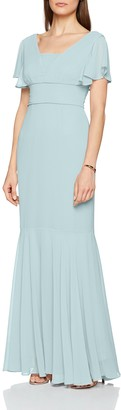 Gina Bacconi Women's Sylvia Chiffon Maxi Party Dress