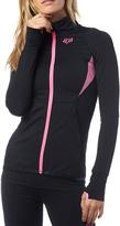 Fox Black & Pink Phoenix Thumbhole Zip-Up Jacket