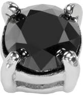 Kohl's Stainless Steel 1/2-ct. T.W. Black Diamond Stud Earring