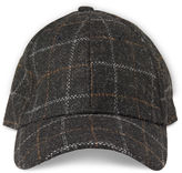 Whistles Checked Baseball Cap