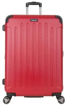 Kenneth Cole Reaction Luggage Corner Guard 28-Inch Checked Hard Shell Luggage