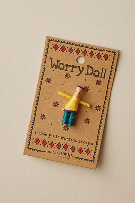 Natural Life Worry Doll By Natural Life in Blue Size ALL