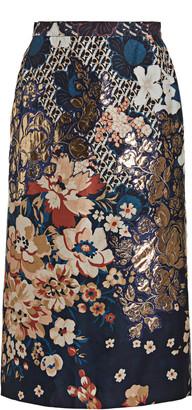 Biyan Narnia Floral Print Skirt