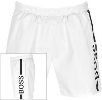 Boss Business BOSS Dolphin Swim Shorts White