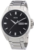 HUGO BOSS Black Dial Stainless Steel Quartz Men's Watch 1512878