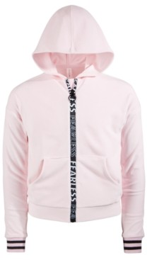 Ideology Big Girls Velour Zip Hoodie, Created for Macy's