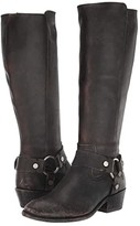 Frye Carson Harness Tall (Black Extended) Women's Boots