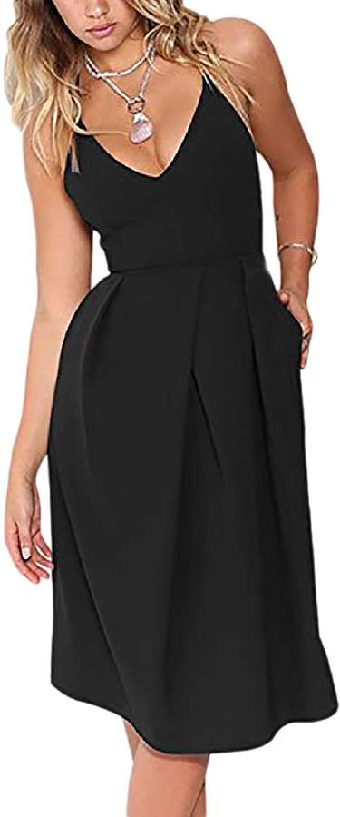 6032bf99b7 Black Summer Party Dress - ShopStyle Canada