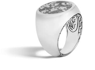 John Hardy Classic Silver Ring