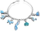 Nuovegioie Tedora Sterling Silver Blue Bracelet