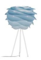 Umage UMAGE - Mini Azure Carmina White Tripod Table Lamp - White/Blue