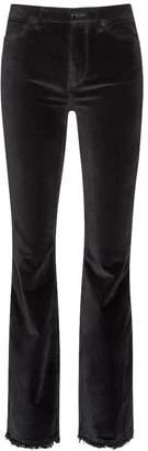 Sam Edelman Stiletto Boot Velvet High Rise Boot Cut Pant