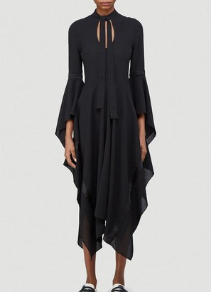 J.W.Anderson Fluted Sleeve Dress