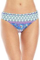 Kenneth Cole Reaction Geometric Floral Hipster Bikini Bottom