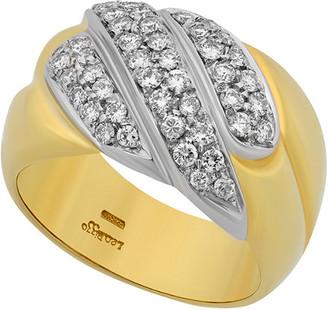 Heritage 18K Two-Tone 0.74 Ct. Tw. Diamond Ring
