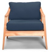 Hogue Teak with Sunbrella Cushions Rosecliff Heights Cushion Color: Flax