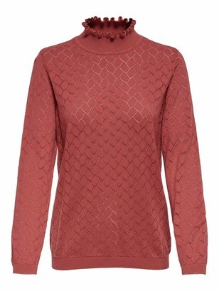 Only Women's ONLBRANDI Life L/S Pullover CC KNT Sweater