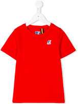 K Way Kids - chest logo t-shirt - kids - Cotton - 4 yrs