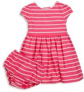 Ralph Lauren Baby's Two-Piece Striped Dress & Bloomers Set