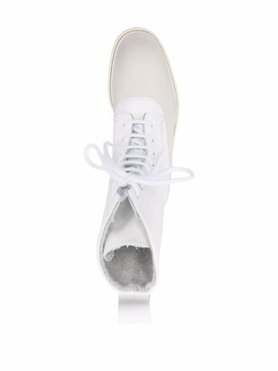 Common Projects Ankle-Length Lace-Up Boots