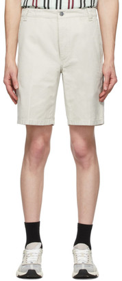 Acne Studios Beige Cotton Canvas Shorts