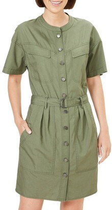 French Connection Belted Utility Dress