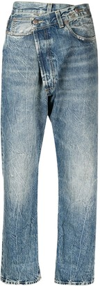 R 13 Crossover High-Rise Jeans
