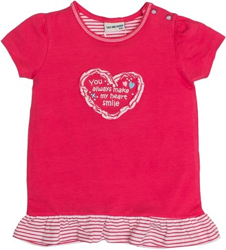 Salt&Pepper Salt and Pepper Baby Girls' B T-Shirt Love uni Ruschen