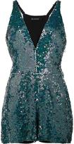 Haney - 'Serena' sequin romper playsuit - women - Polyester/Sequin - 6
