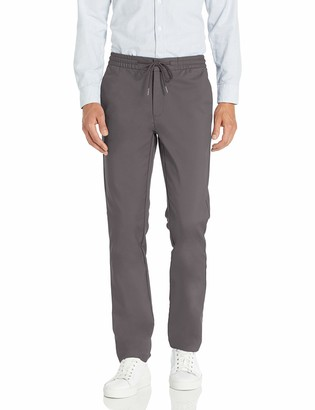 "Goodthreads Slim-fit Performance Drawstring Pant Grey X-Large/34"" Inseam (size:):)"