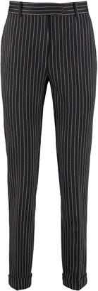 Max Mara Luca Cropped Pinstripe Trousers