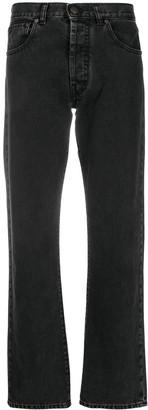 Maison Margiela Straight-Leg Mid-Rise Jeans