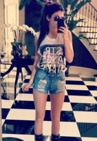 Kylie Minogue Strange Days Muscle Tee as seen on Kylie Jenner - by Civil Clothing