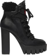 DSQUARED2 130mm Canada Leather Hiking Style Boots
