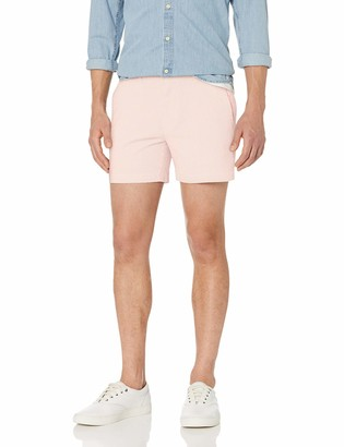 "Goodthreads Amazon Brand Men's 5"" Inseam Stretch Seersucker Short"